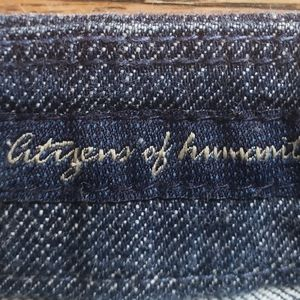 Citizens of humanity jeans ladies size 27x31